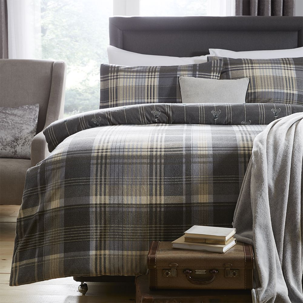 Thermal-100-Brushed-Cotton-Flannelette-Quilt-Duvet-Cover-Bed-Set-Soft-Cosy-Warm thumbnail 30