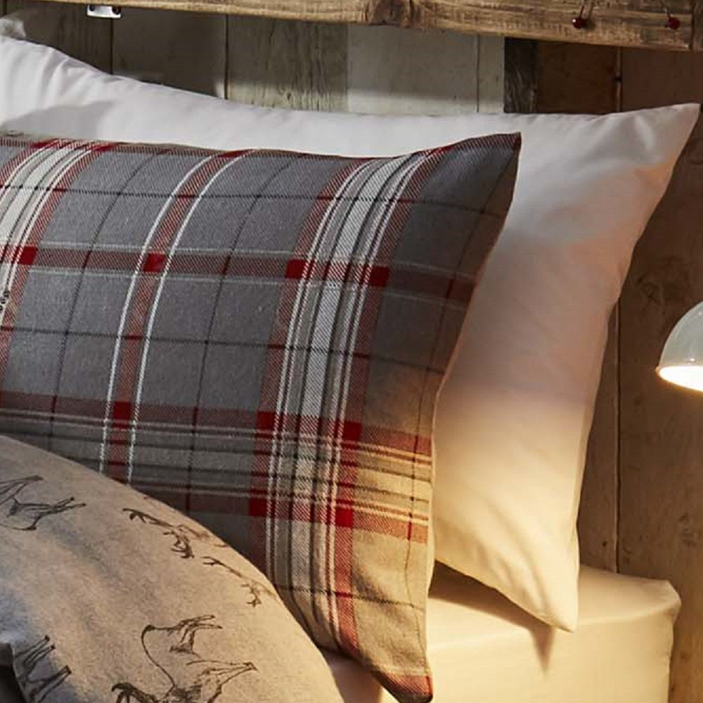 Thermal-100-Brushed-Cotton-Flannelette-Quilt-Duvet-Cover-Bed-Set-Soft-Cosy-Warm thumbnail 5