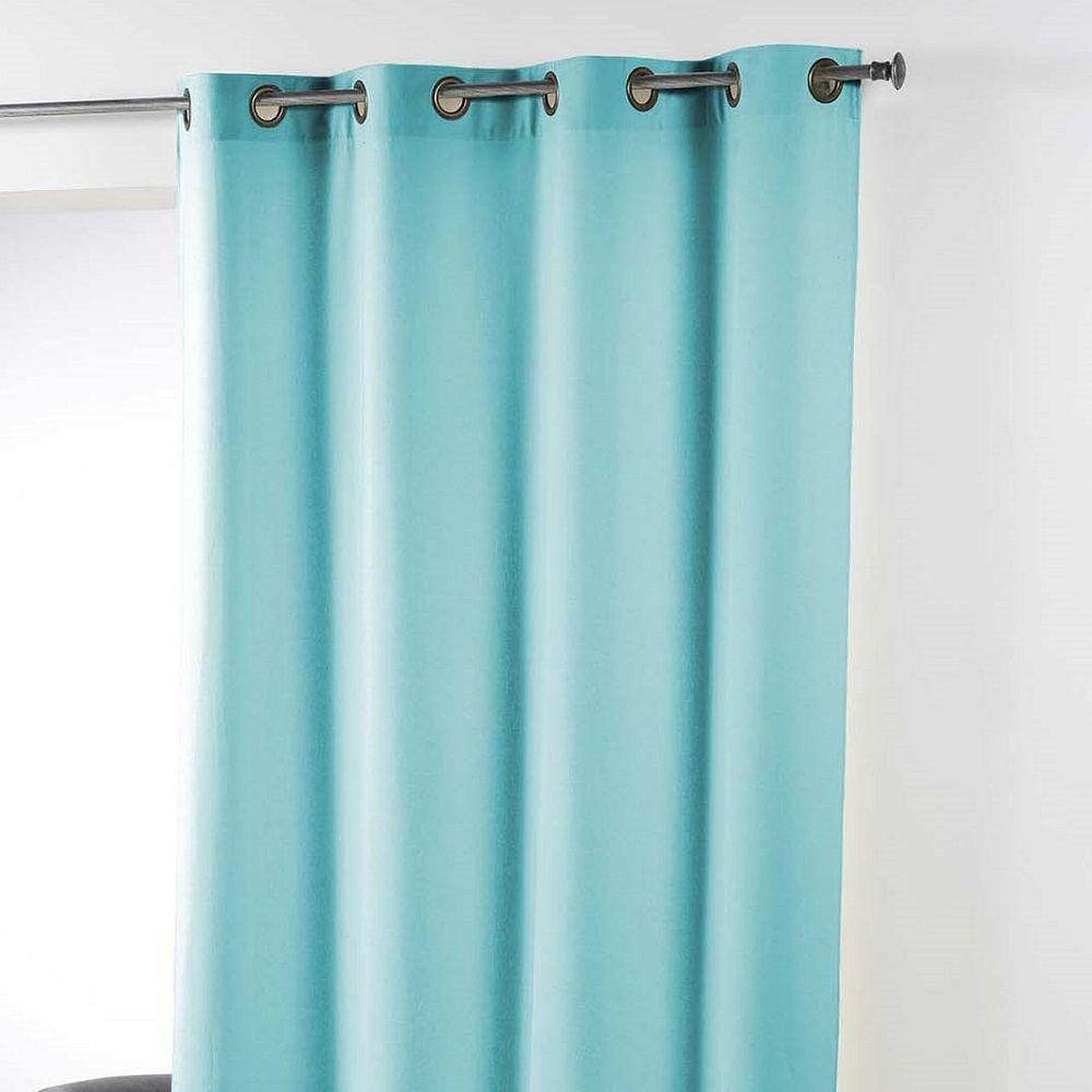 Essentiel-Plain-Single-Curtain-Panel-with-Plastic-Eyelets thumbnail 7