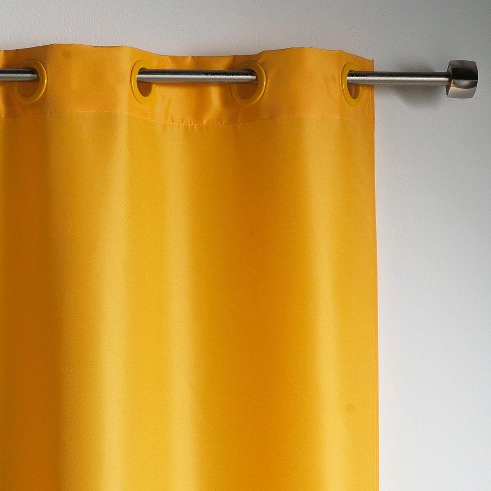 Essentiel-Plain-Single-Curtain-Panel-with-Plastic-Eyelets thumbnail 22
