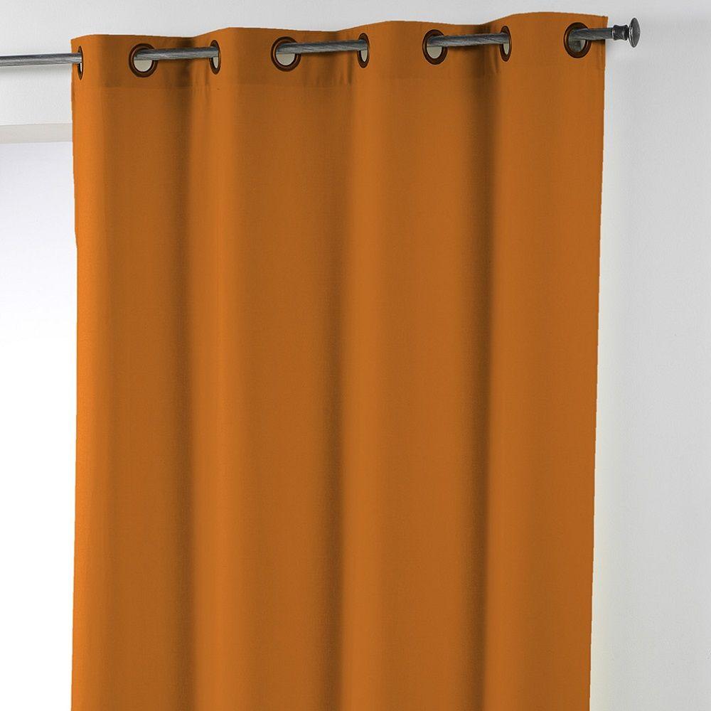 Essentiel-Plain-Single-Curtain-Panel-with-Plastic-Eyelets thumbnail 24
