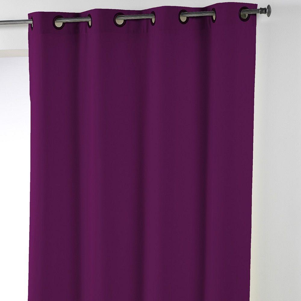 Essentiel-Plain-Single-Curtain-Panel-with-Plastic-Eyelets thumbnail 36