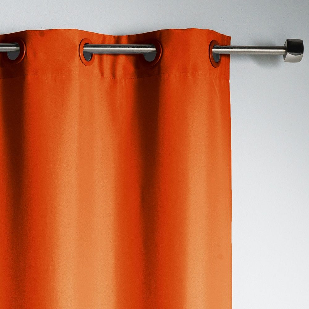 Essentiel-Plain-Single-Curtain-Panel-with-Plastic-Eyelets thumbnail 5