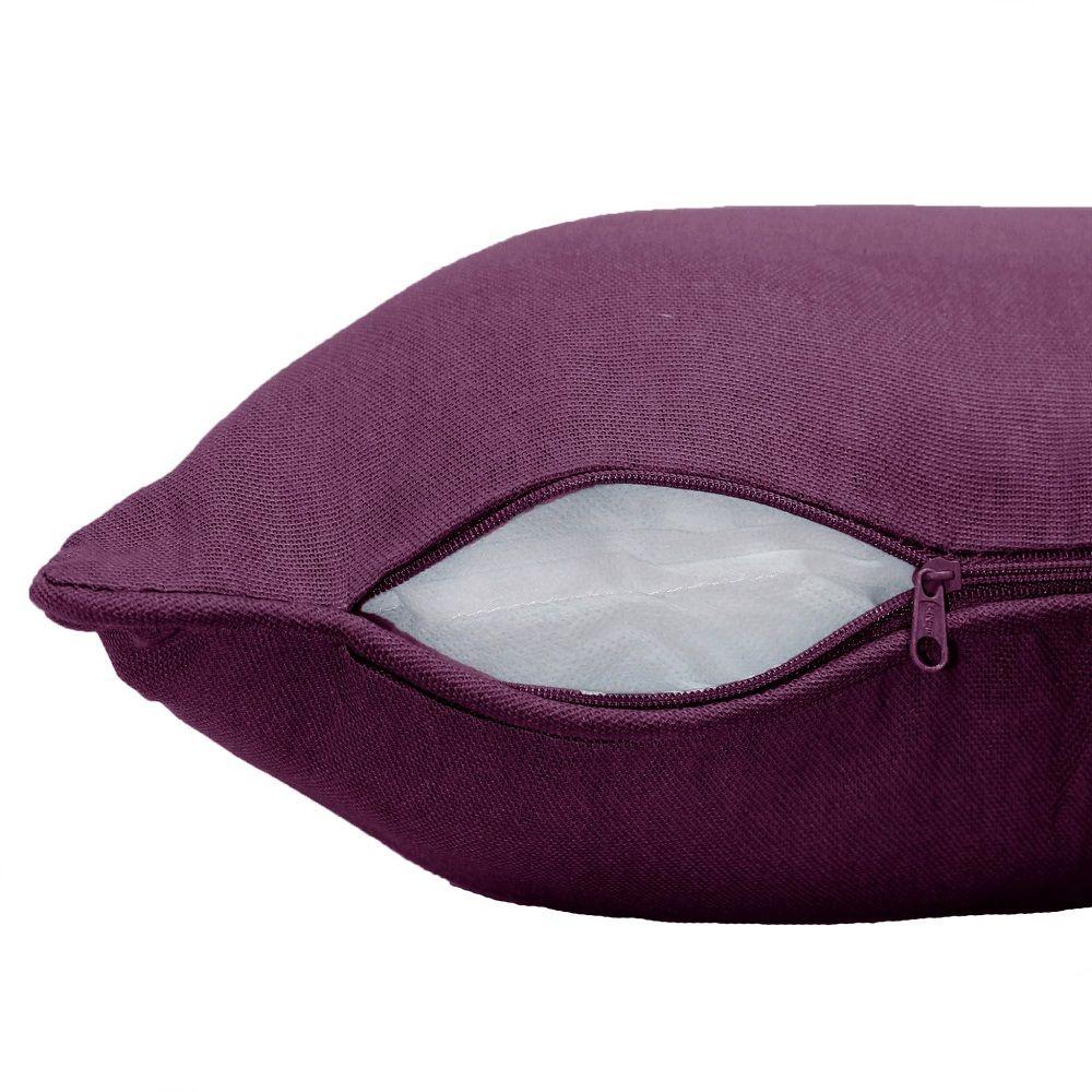 Plain-100-Cotton-Panama-Cushion-Cover-2-sizes-Assorted-Colours thumbnail 63