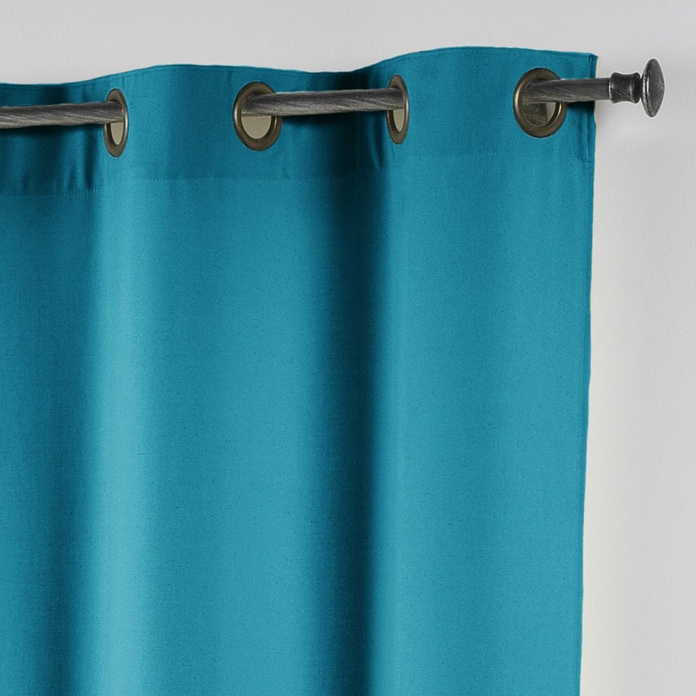 Essentiel-Plain-Single-Curtain-Panel-with-Metal-Eyelets-Long-280cm-Drop thumbnail 9