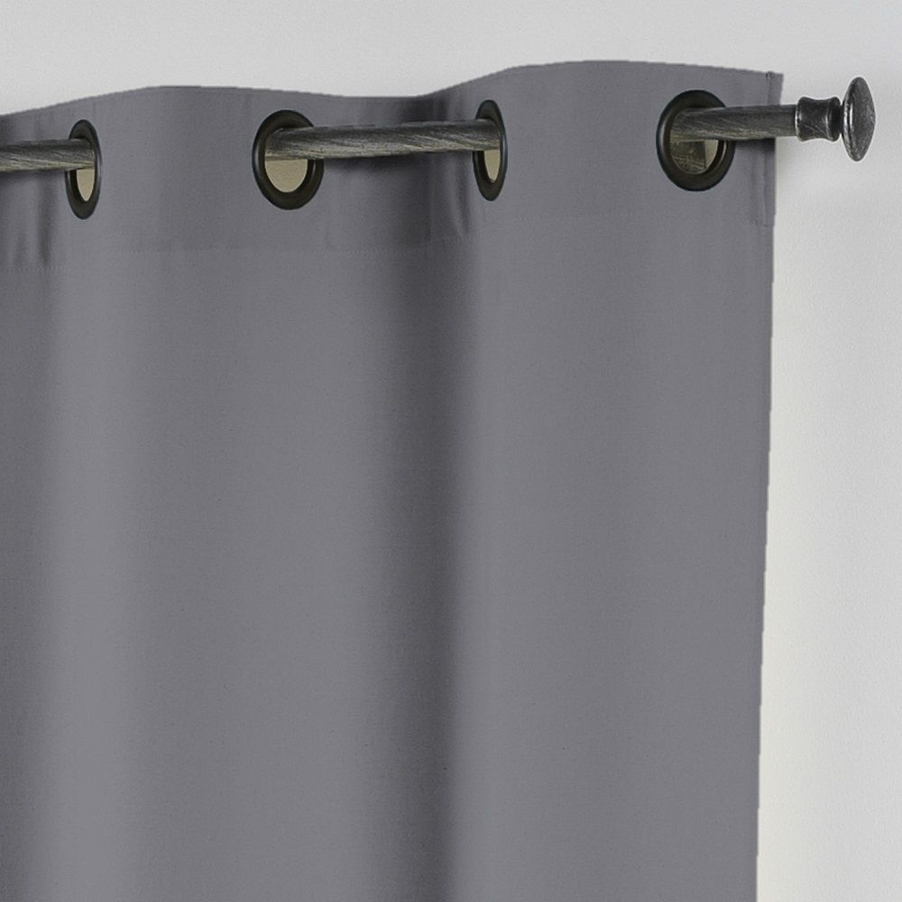 Essentiel-Plain-Single-Curtain-Panel-with-Metal-Eyelets-Long-280cm-Drop thumbnail 11
