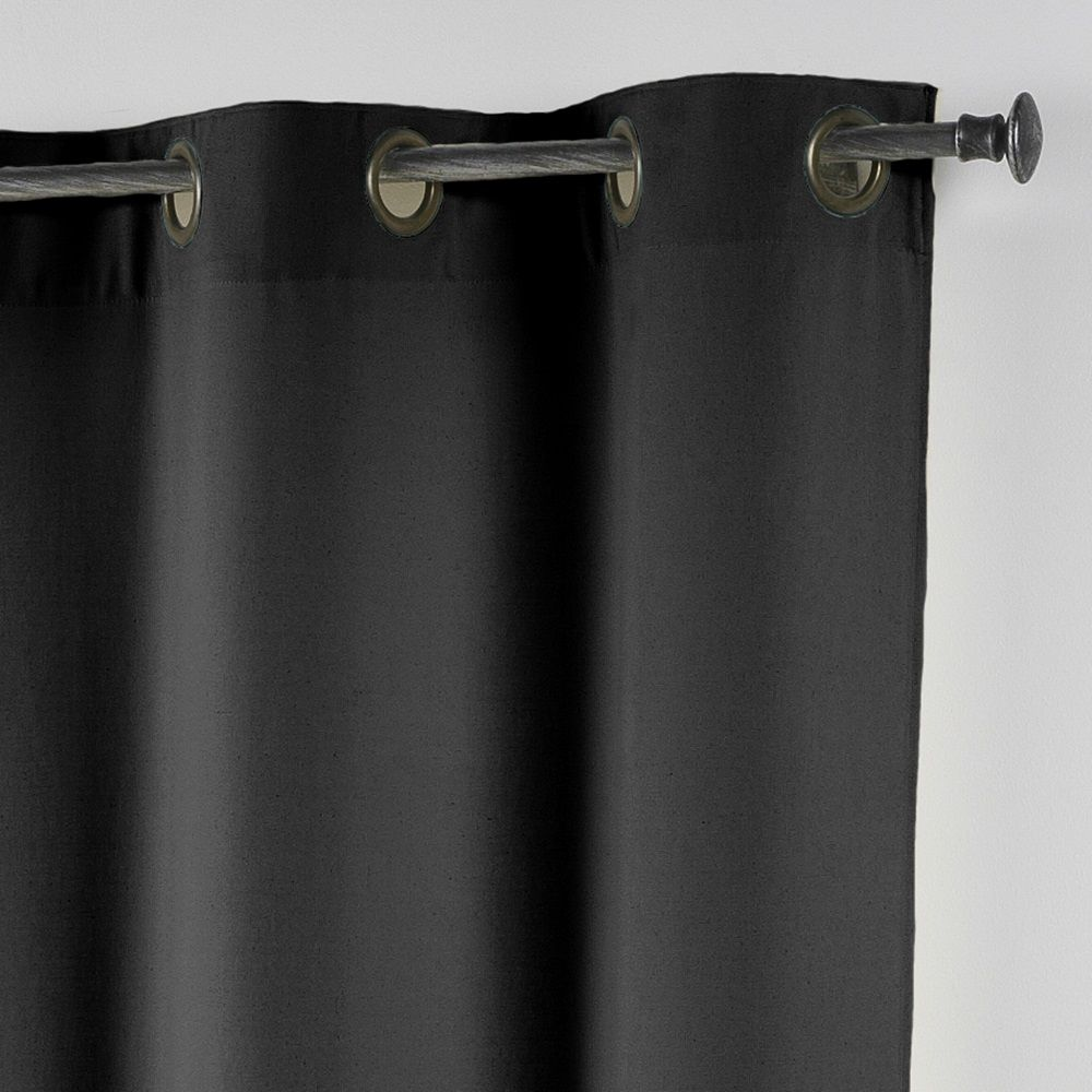 Essentiel-Plain-Single-Curtain-Panel-with-Metal-Eyelets-Long-280cm-Drop thumbnail 17