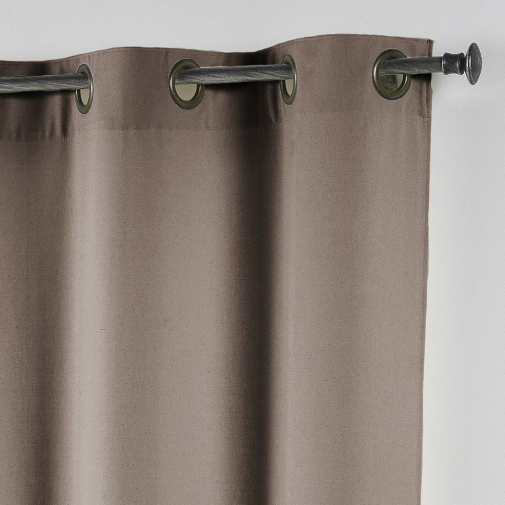 Essentiel-Plain-Single-Curtain-Panel-with-Metal-Eyelets-Long-280cm-Drop thumbnail 21