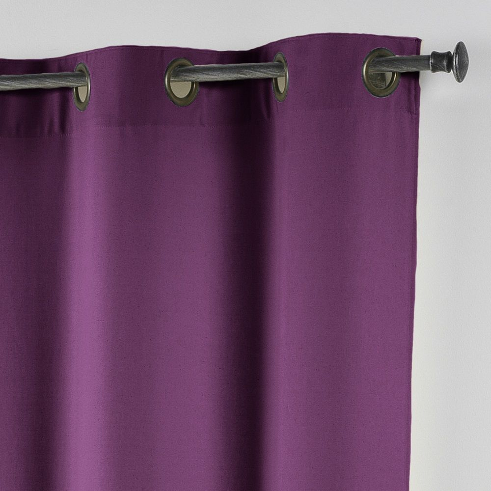 Essentiel-Plain-Single-Curtain-Panel-with-Metal-Eyelets-Long-280cm-Drop thumbnail 27