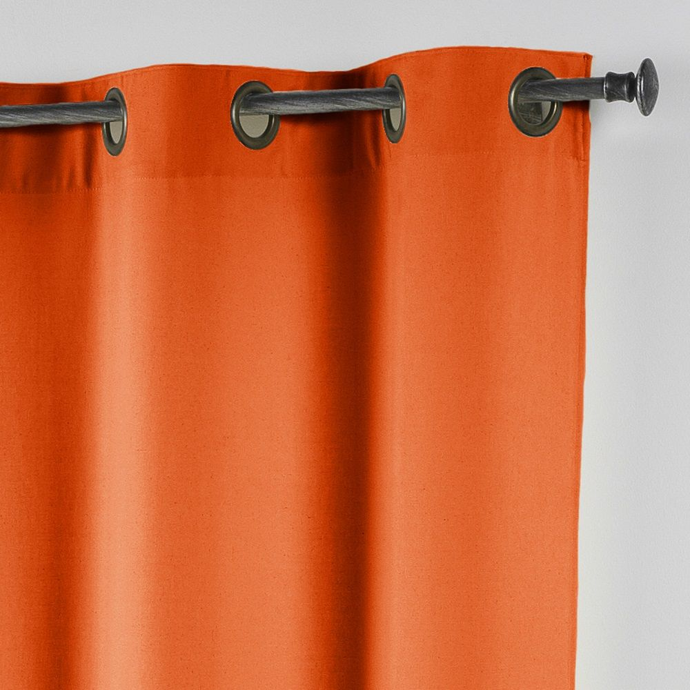 Essentiel-Plain-Single-Curtain-Panel-with-Metal-Eyelets-Long-280cm-Drop thumbnail 29