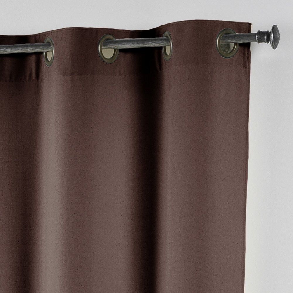 Essentiel-Plain-Single-Curtain-Panel-with-Metal-Eyelets-Long-280cm-Drop thumbnail 31