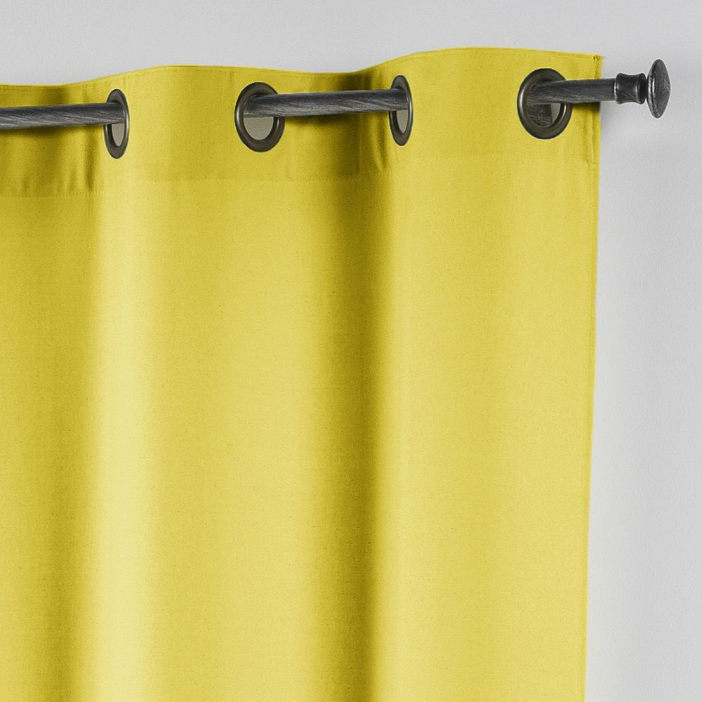 Essentiel-Plain-Single-Curtain-Panel-with-Metal-Eyelets-Long-280cm-Drop thumbnail 43