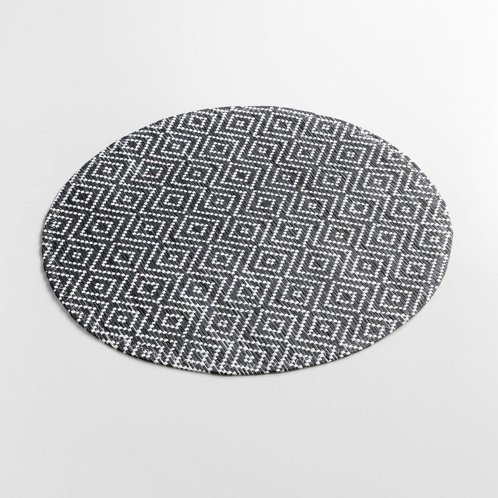 Woven-Basketweave-Fibre-Paper-Table-Placemat-Round-or-Rectangular thumbnail 13