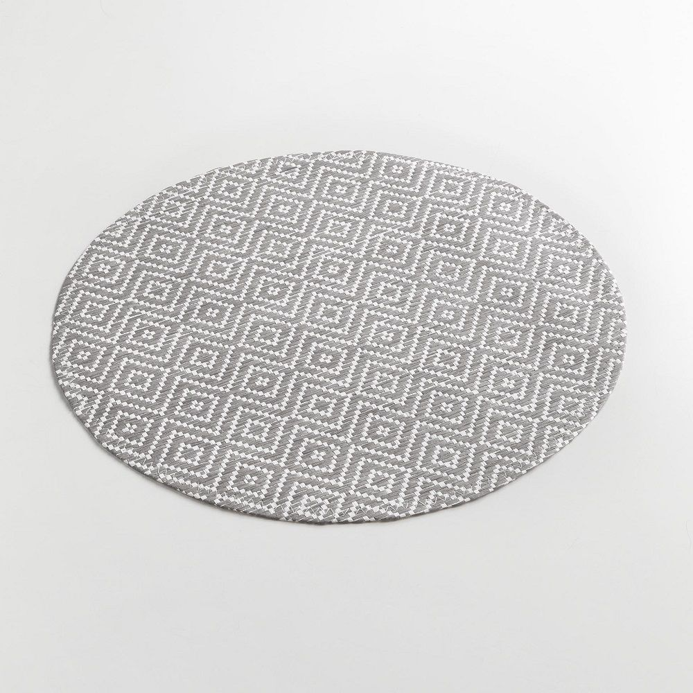 Woven-Basketweave-Fibre-Paper-Table-Placemat-Round-or-Rectangular thumbnail 16