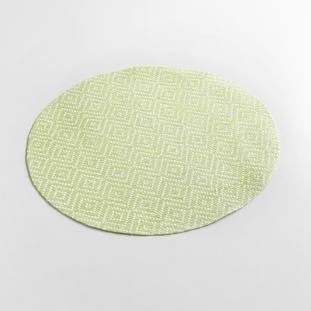 Woven-Basketweave-Fibre-Paper-Table-Placemat-Round-or-Rectangular thumbnail 19
