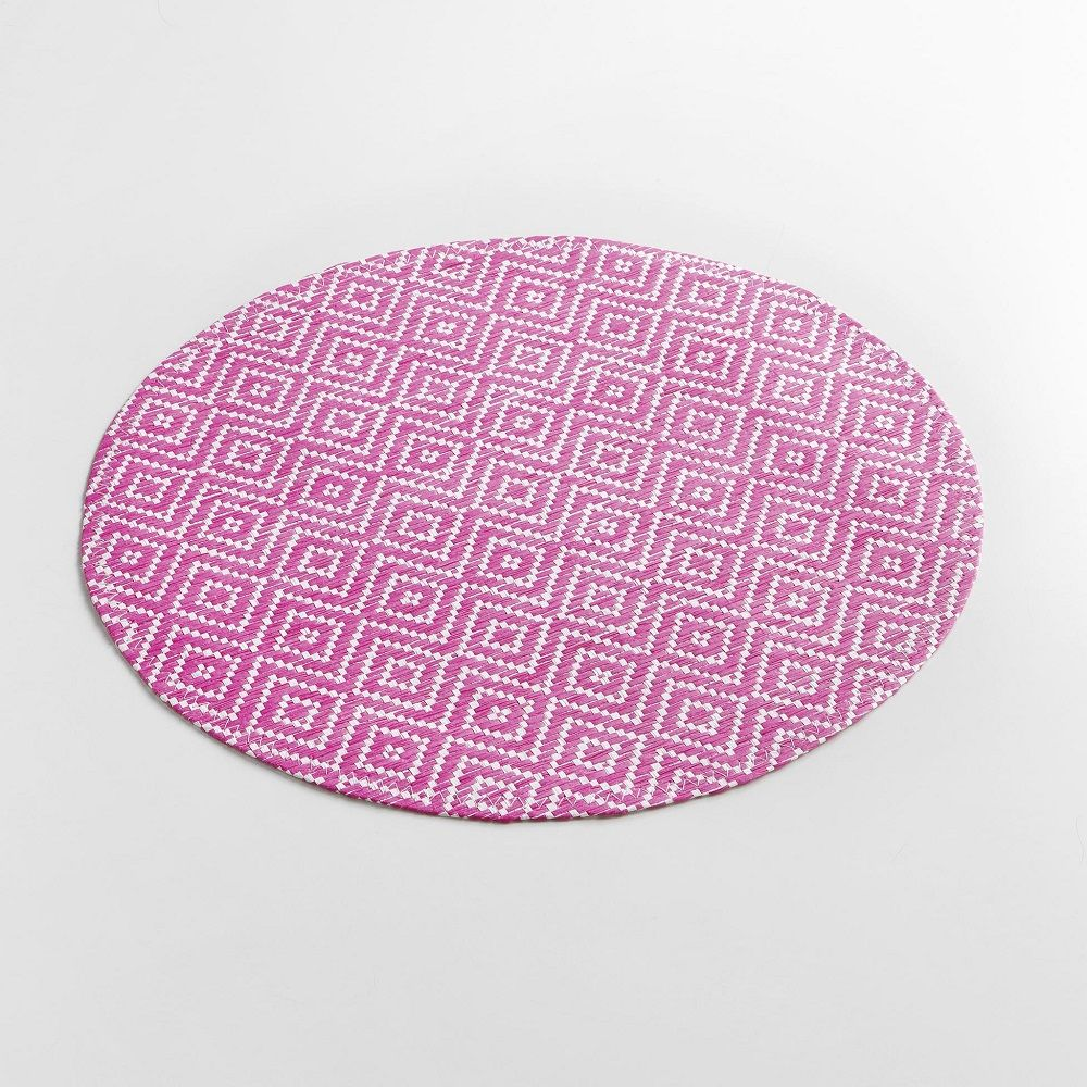 Woven-Basketweave-Fibre-Paper-Table-Placemat-Round-or-Rectangular thumbnail 25