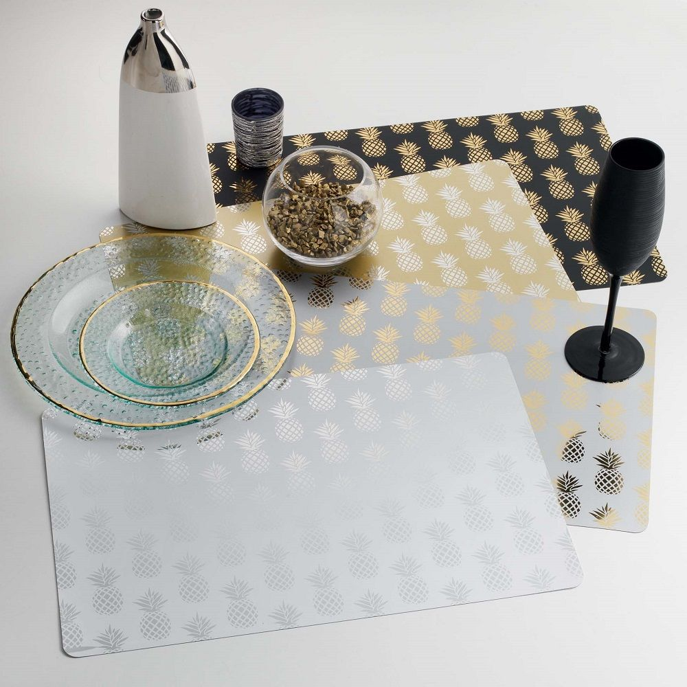 PVC-Dining-Table-Protector-Placemat-Round-or-Rectangular thumbnail 36