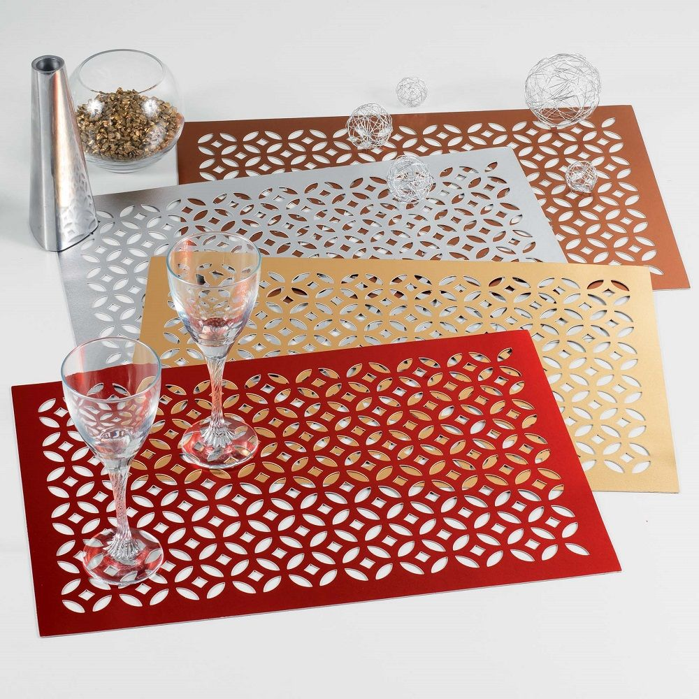 PVC-Dining-Table-Protector-Placemat-Round-or-Rectangular thumbnail 22