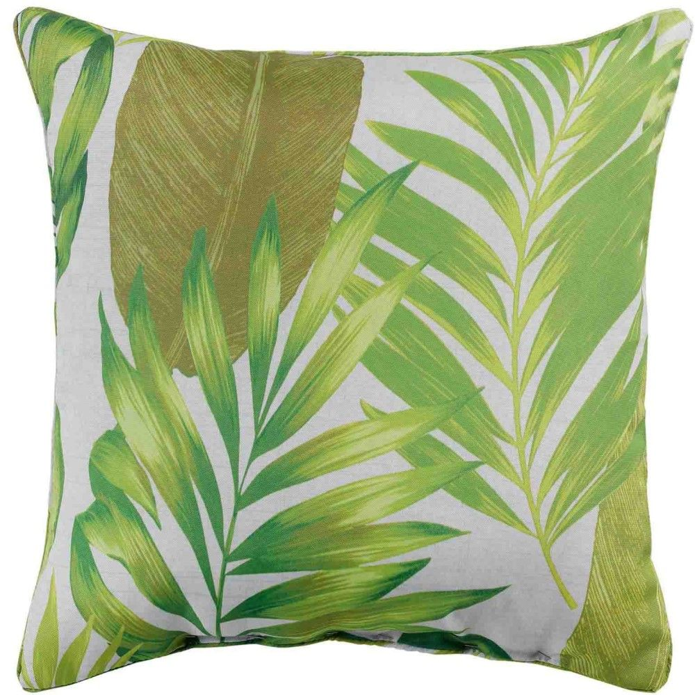 AKENA-Tropicale-Floreale-sfoderato-Tende-con-occhiello-pannello-voile-verde-Long-Gocce miniatura 8