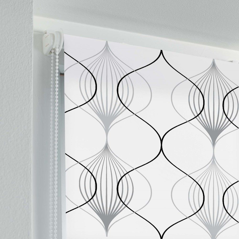 Patterned-Daylight-Ready-Made-Window-Roller-Blinds-45-60cm-Width-Various-Colours thumbnail 83