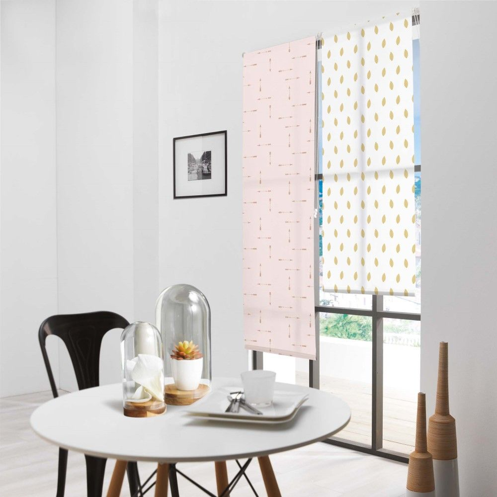 Patterned Daylight Ready Made Window Roller Blinds 45 60cm