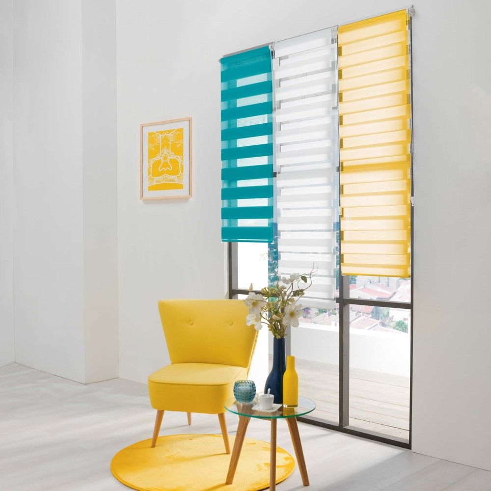 Day-and-Night-Ready-Made-Plain-Roller-Window-Blinds-45-60cm-Widths-8-Colours thumbnail 7