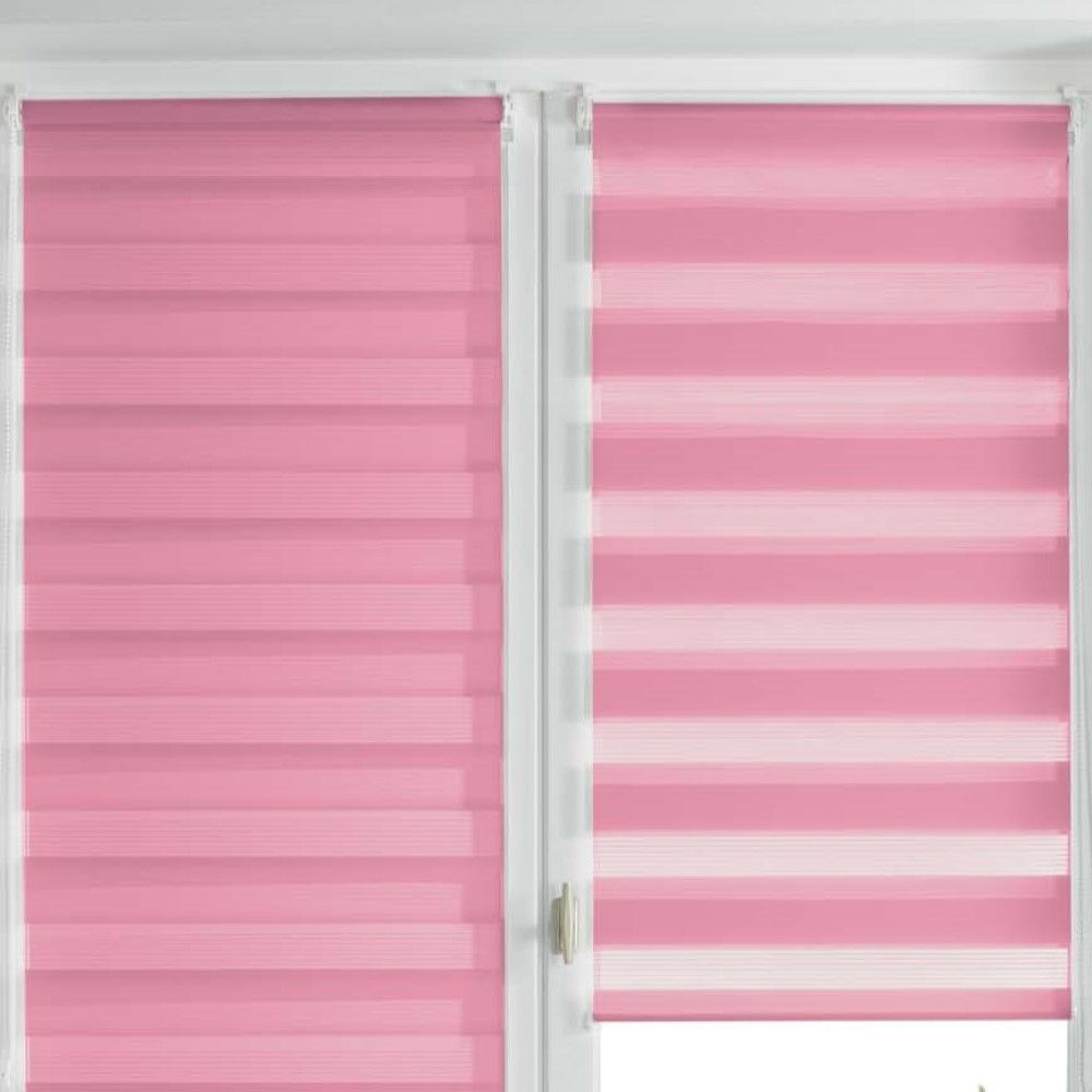 Day-and-Night-Ready-Made-Plain-Roller-Window-Blinds-45-60cm-Widths-8-Colours thumbnail 31