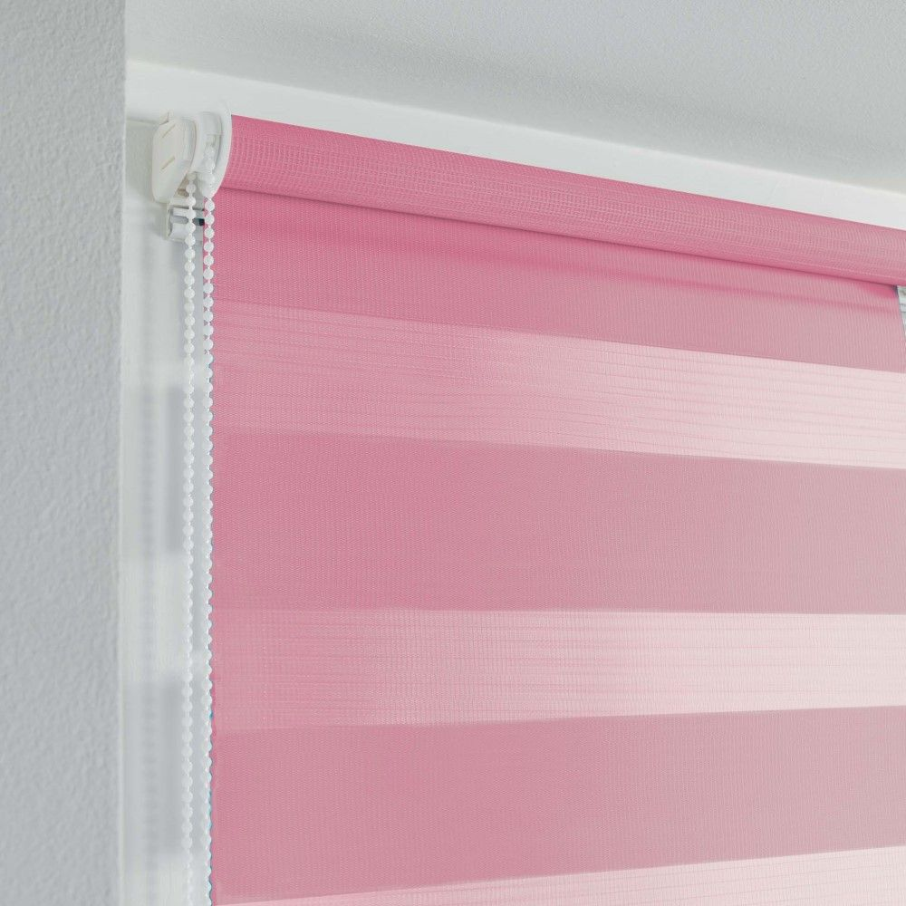 Day-and-Night-Ready-Made-Plain-Roller-Window-Blinds-45-60cm-Widths-8-Colours thumbnail 32