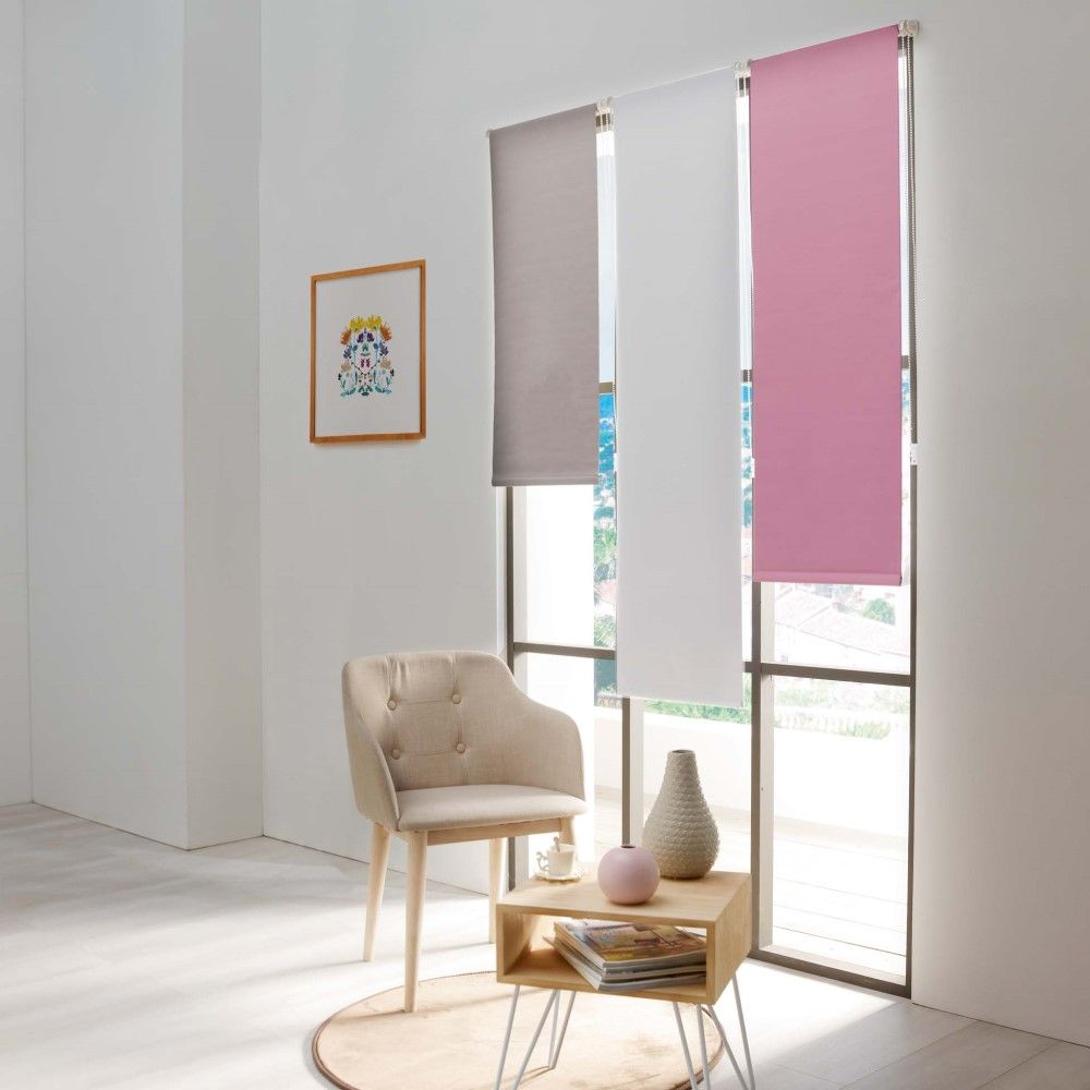 Occult-Ready-Made-Plain-Blackout-Window-Roller-Blinds-45-60cm-Widths-8-Colours thumbnail 21