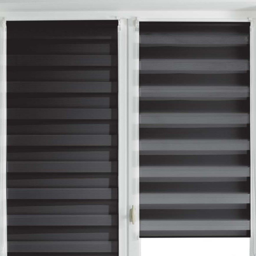 Day-and-Night-Ready-Made-Plain-Roller-Window-Blinds-45-60cm-Widths-8-Colours thumbnail 26