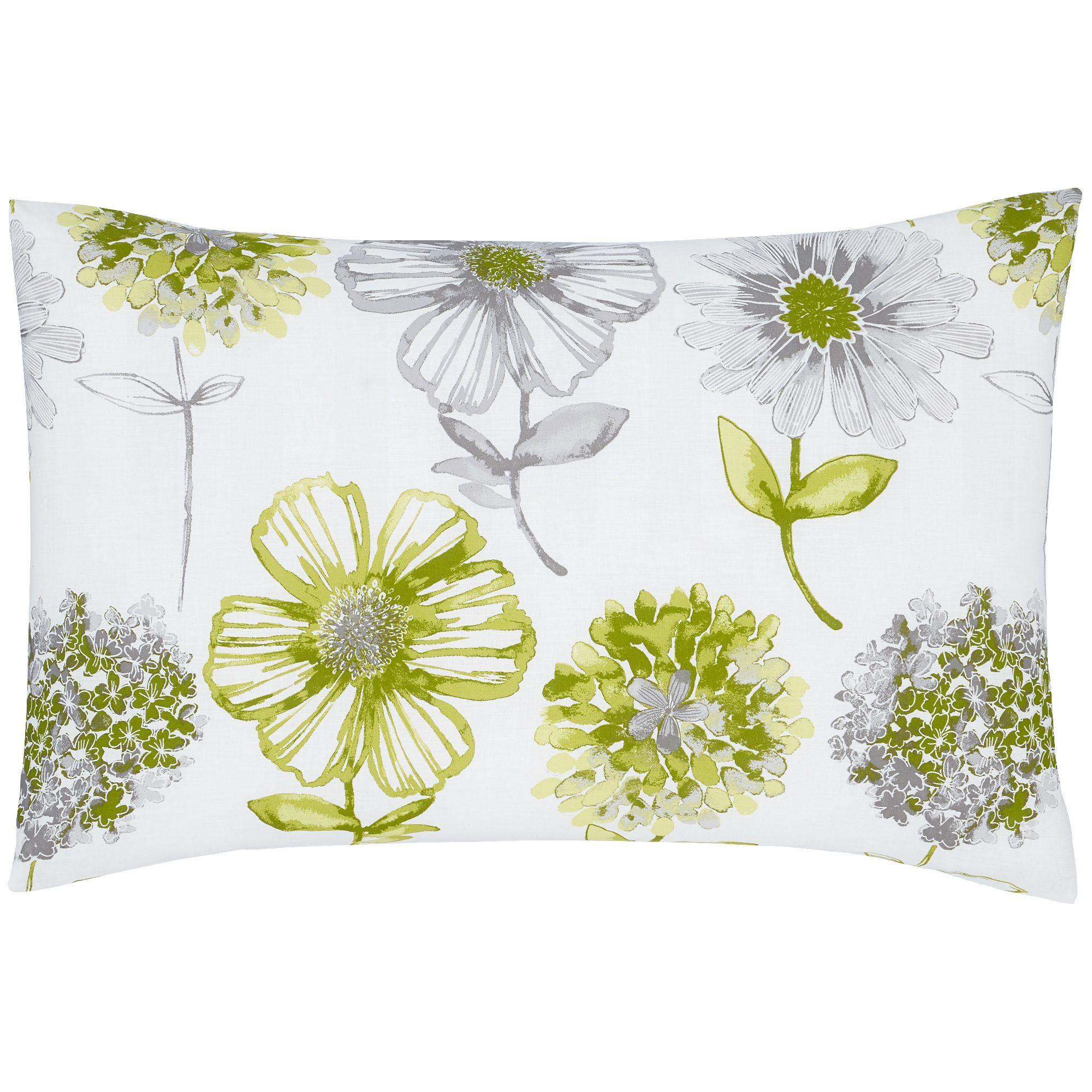 Catherine-Lansfield-Banbury-Floral-Bedding-Duvet-Set-Bedspread-Yellow-Green thumbnail 11