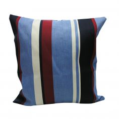 Padstow Marine (Red/Blue) Cushion Cover