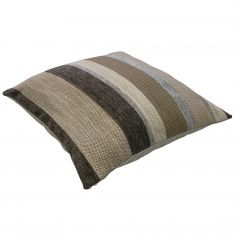 Aspen Chenille Stripe Cushion Cover - Natural