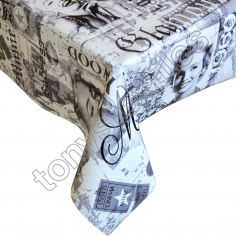 Marilyn Glamour Plastic Tablecloth Wipe Clean Pvc Vinyl