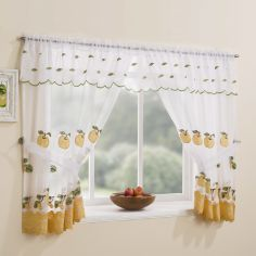 Winchester Kitchen Window Set - Yellow