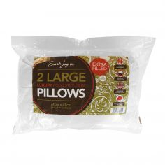 Pair of Luxury Polyester Fibre Pillows