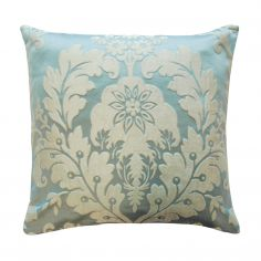 Charleston Jacquard Cushion Cover - Duck Egg Blue