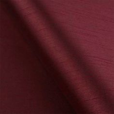 Wine Faux Silk Made to Measure Curtains