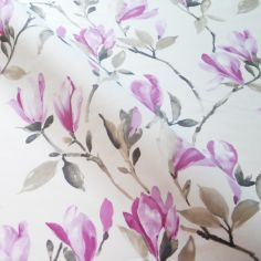 Cerise Maya Made to Measure Curtains
