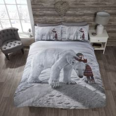 Anoushka & Polar Bear Duvet Cover Set