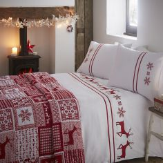 Luxury Vancouver Quilted Bedspread - Red