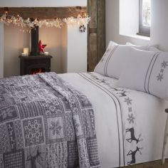 Luxury Vancouver Quilted Bedspread - Grey