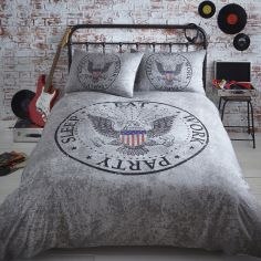 Legend Eat Work Party Sleep Duvet Cover Set