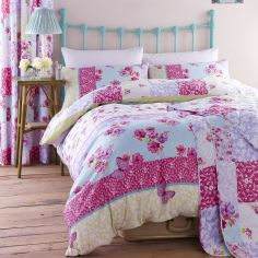 Gypsy Patchwork Duvet Cover Set