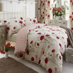Wild Poppies Duvet Cover Set