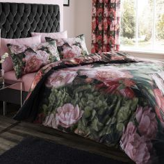 Dramatic Floral Duvet Cover Set