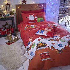 Santa's Christmas Presents Duvet Cover Set