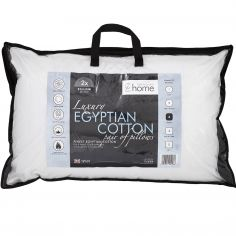 Pair of CL Egyptian Cotton Pillows