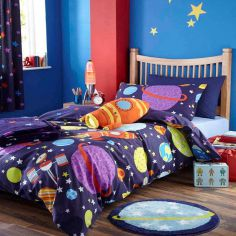Outer Space Kids Duvet Cover Set