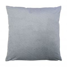 Colorado Waffle Chenille Effect Cushion Cover - Silver Grey